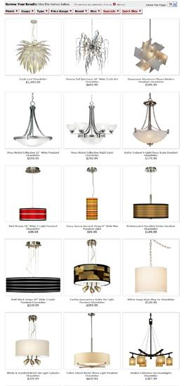 Light Fixture Search Engine